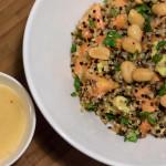 Papaya-Quinoa Salat