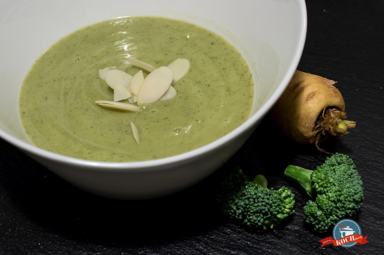 Pastinaken-Brokkoli Suppe
